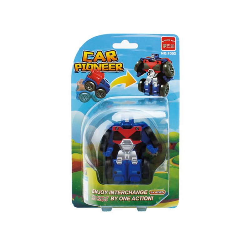 """Машинка """"Мини  робот"""" (красный с синим) 1002 купить в магазине """"Пустун"""""""