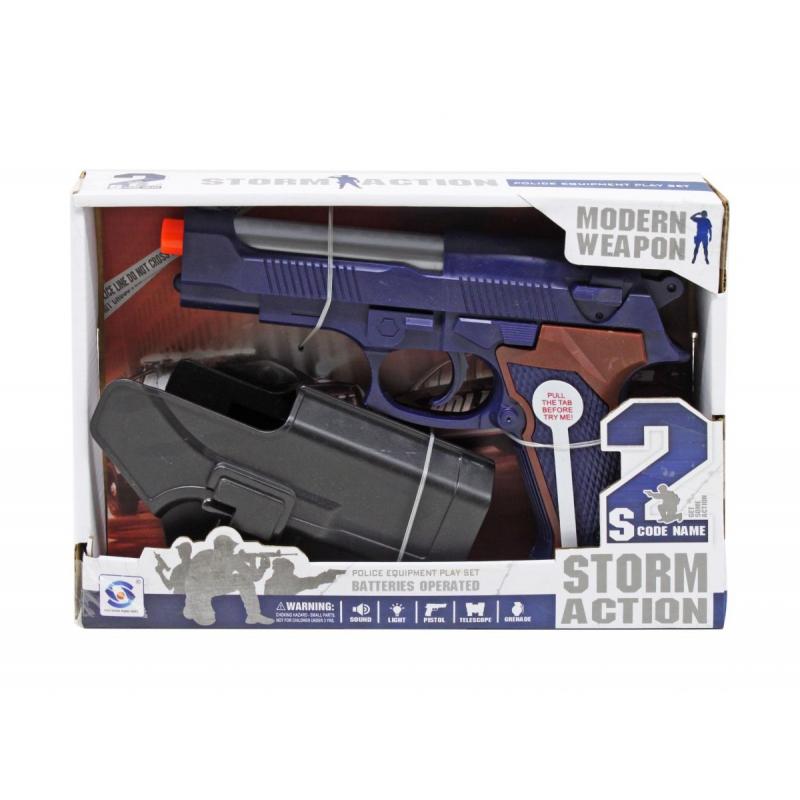 """Игровой набор Пистолет полицейского купить в магазине """"Пустун"""""""