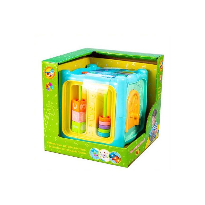 """Интерактивная игрушка Развивающий куб 6 в 1 купить в магазине """"Пустун"""""""