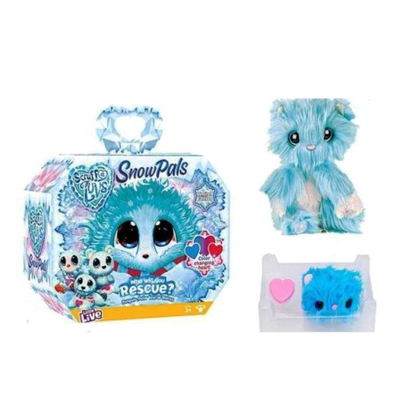 """Мягкая игрушка-сюрприз Scruff A Luvs (голубая) купить в магазине """"Пустун"""""""