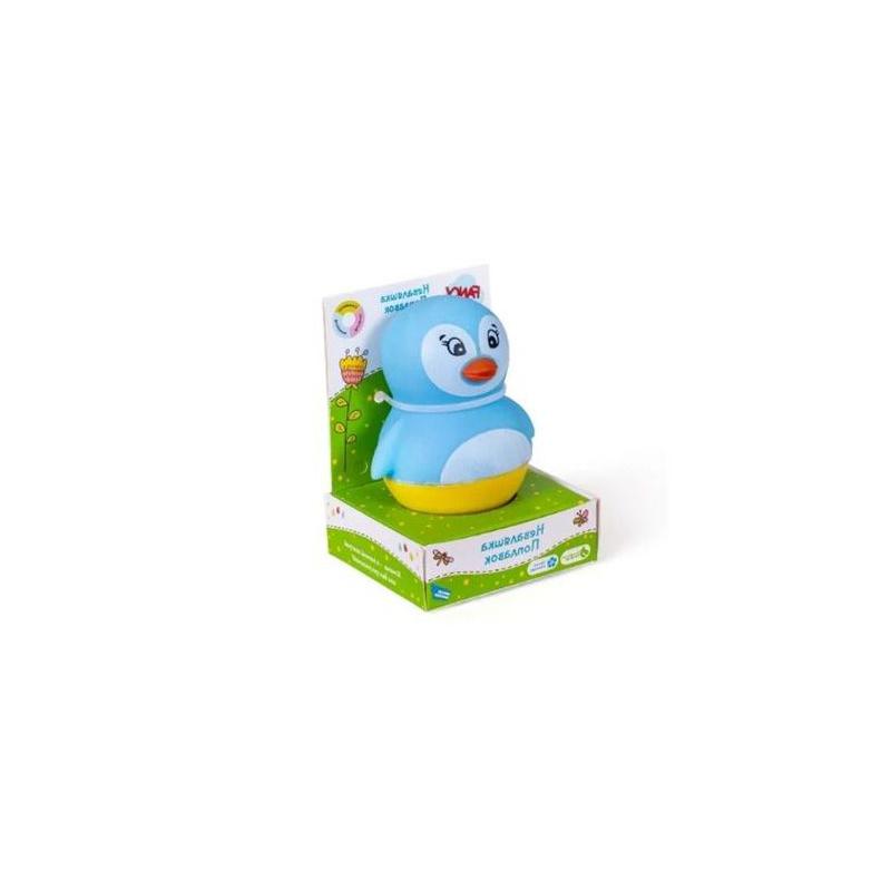 """Игрушка для ванной """"Неваляша  поплавок. Пингвин"""" NEV01 купить в магазине """"Пустун"""""""