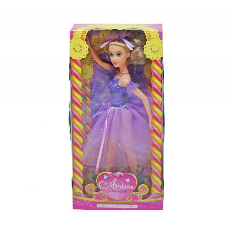 """Кукла Балерина (фиолетовый) купить в магазине """"Пустун"""""""