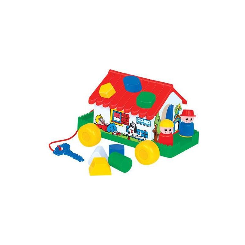 """Игровой домик сортер на колесах купить в магазине """"Пустун"""""""
