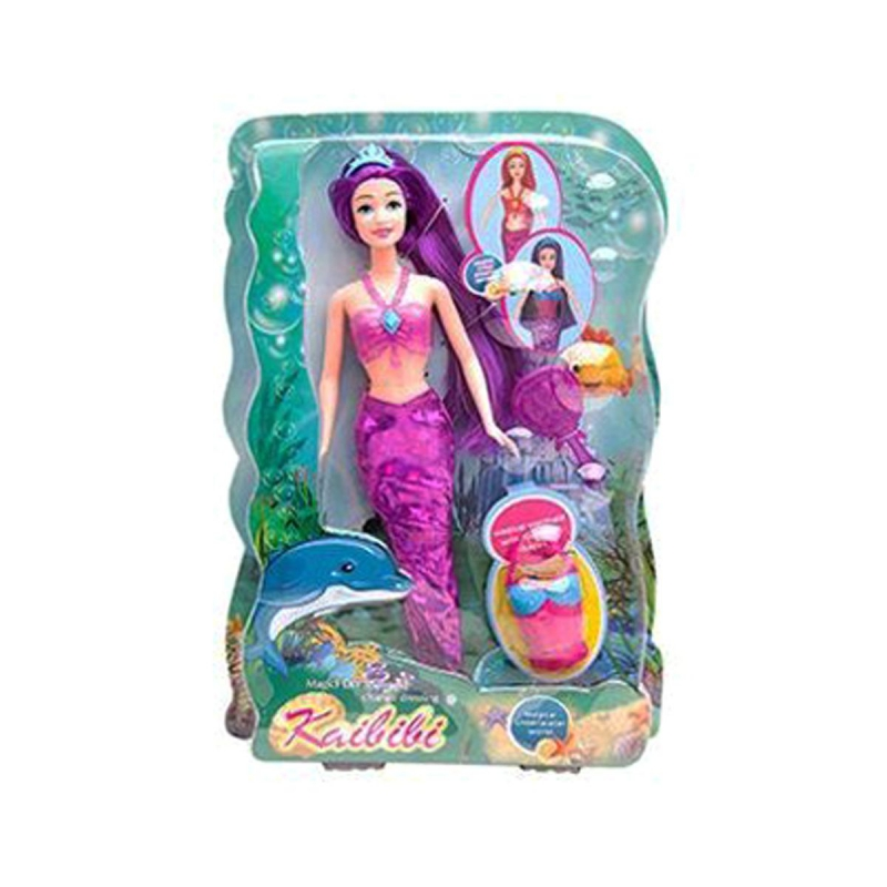 """Кукла """"Kailili: Русалка"""" (фиолетовый) BLD 109 купить в магазине """"Пустун"""""""