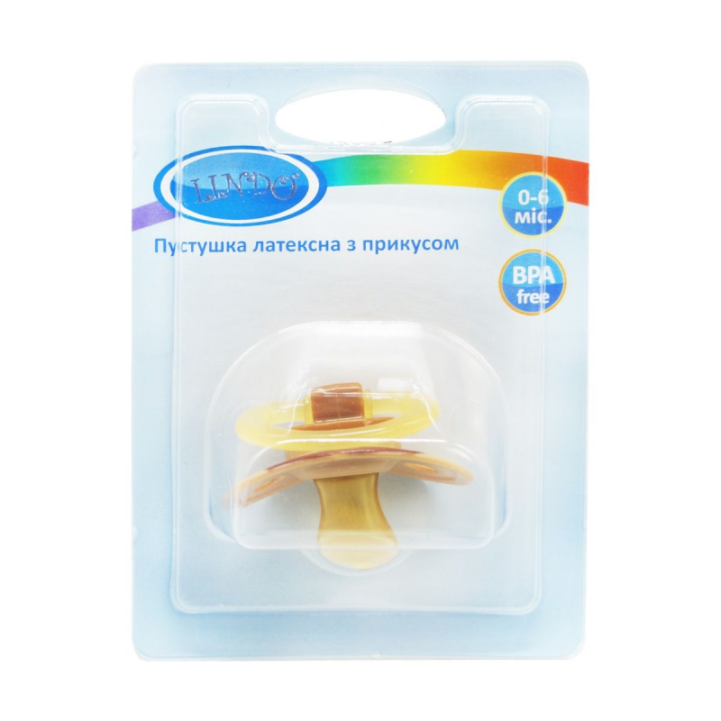 """Пустышка с прикусом. 0-6 мес. (коричневый) Pk 012/0-6 купить в магазине """"Пустун"""""""