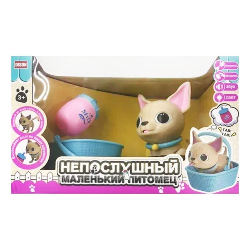 """Интерактивный питомец """"Naughty Little Pet: Песик"""" E5599-11 купить в магазине """"Пустун"""""""