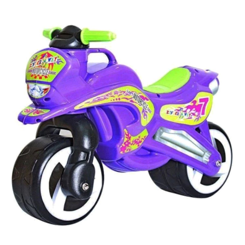 """Каталка """"Мотоцикл"""" (фиолетовый) KW-11-006 ФИО купить в магазине """"Пустун"""""""