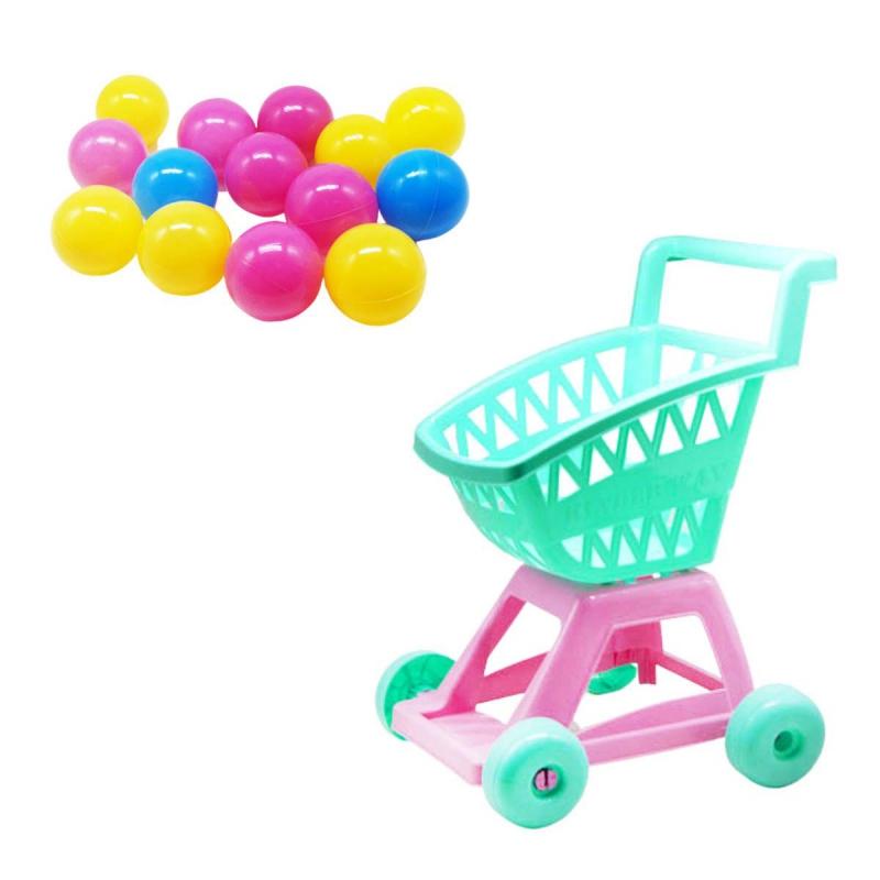 """Тележка с шариками (бирюзовый) KW-36-004 купить в магазине """"Пустун"""""""