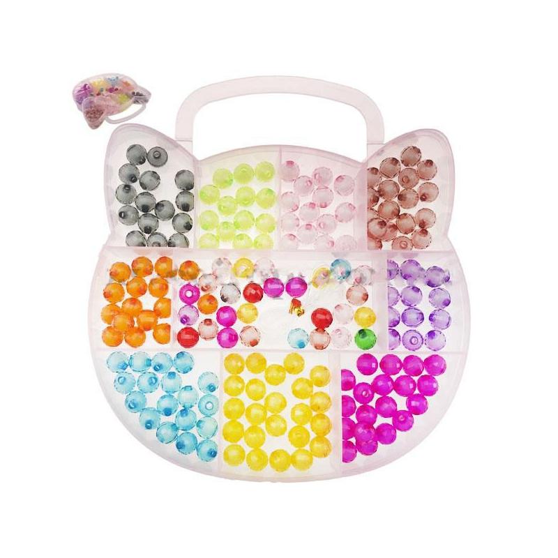 """Набор блестящих бусин """"Hello Kitty"""" PR1684 купить в магазине """"Пустун"""""""