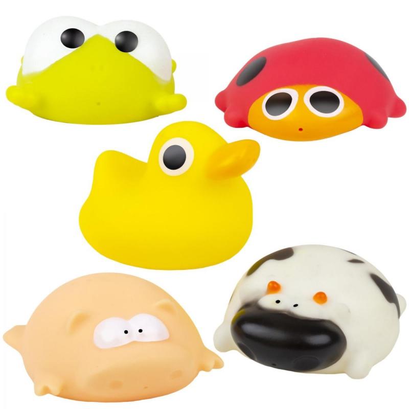"""Набор игрушек для купания """"Зверушки"""" (5 шт) 58115 купить в магазине """"Пустун"""""""