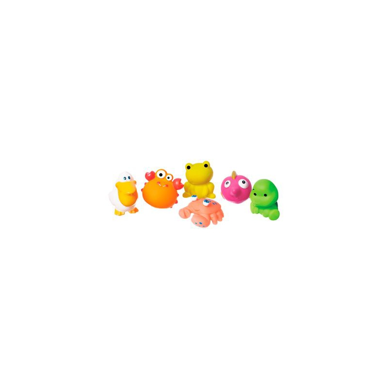 """Набор игрушек для купания """"Морские животные"""" (6 шт) 58127 купить в магазине """"Пустун"""""""