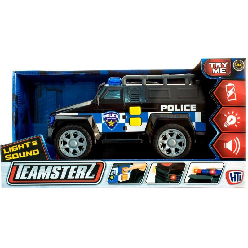 """Машинка Teamsterl Полиция купить в магазине """"Пустун"""""""