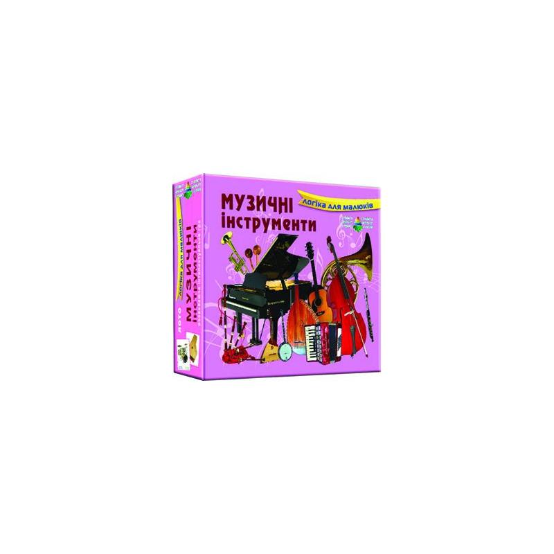 """Игра Детское лото Музыкальные инструменты купить в магазине """"Пустун"""""""