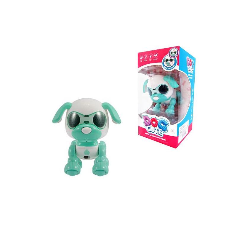 """Интерактивная игрушка Собачка (бирюзовый) купить в магазине """"Пустун"""""""