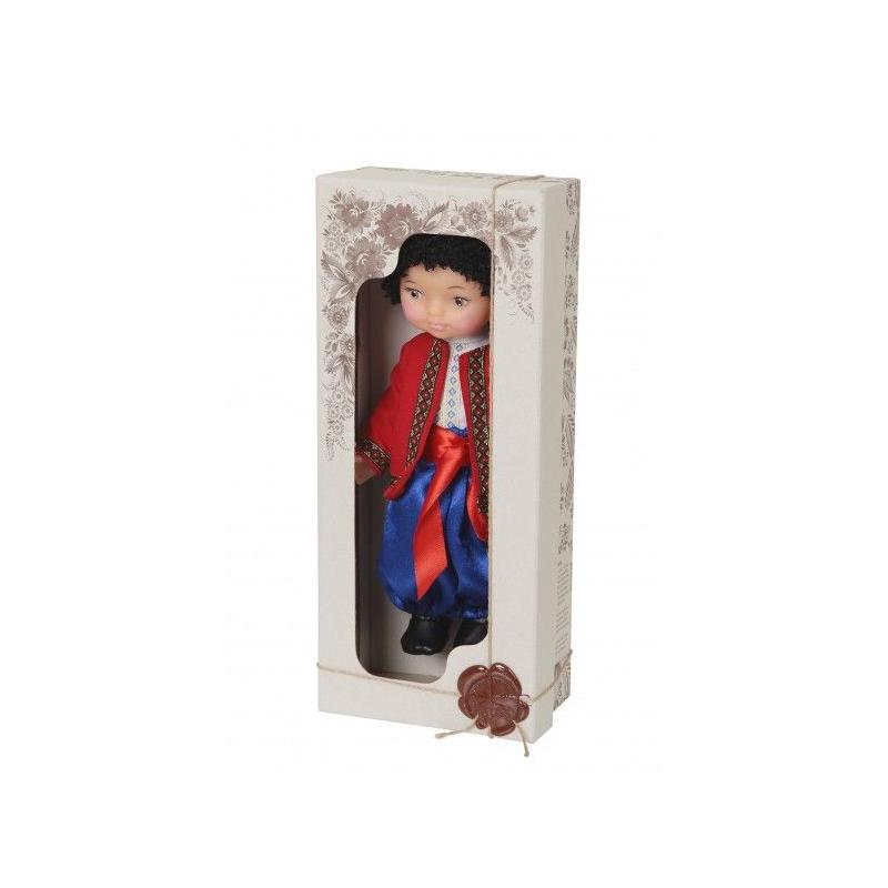 """Кукла Мальчик в вышиванке (красный) купить в магазине """"Пустун"""""""