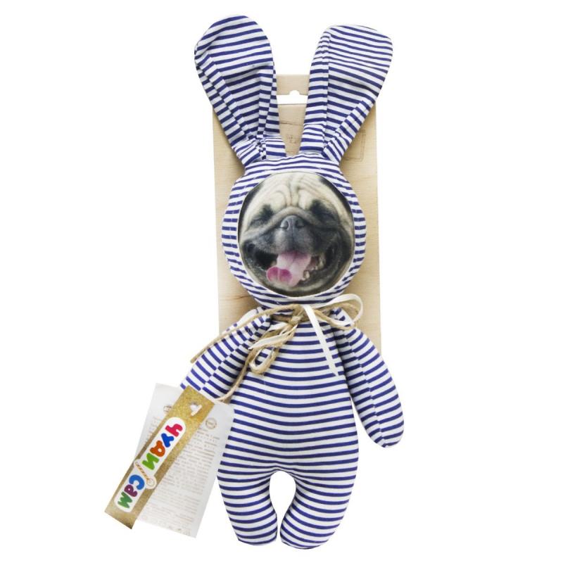 """Игрушка Сплюшка: Мопс на пижамной вечеринке купить в магазине """"Пустун"""""""
