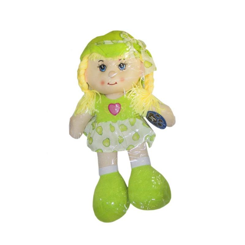 """Мягкая музыкальная кукла в капюшоне салатовый купить в магазине """"Пустун"""""""