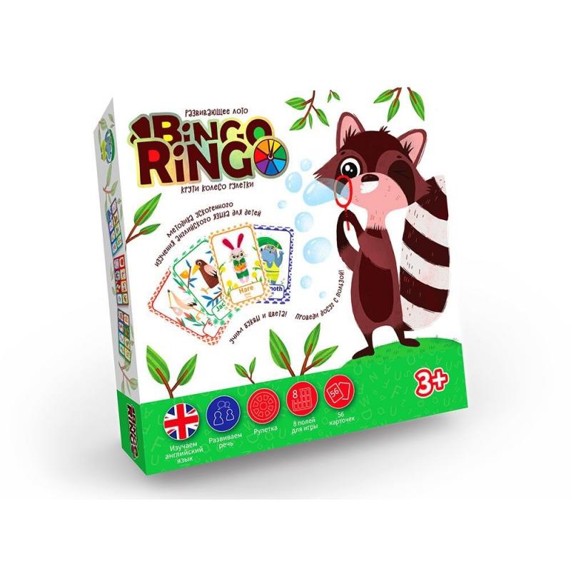 """Настольная игра Bingo Ringo купить в магазине """"Пустун"""""""