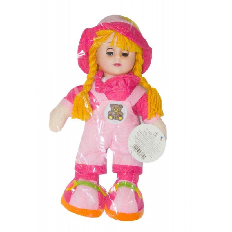 """Музыкальная плюшевая кукла розовый купить в магазине """"Пустун"""""""