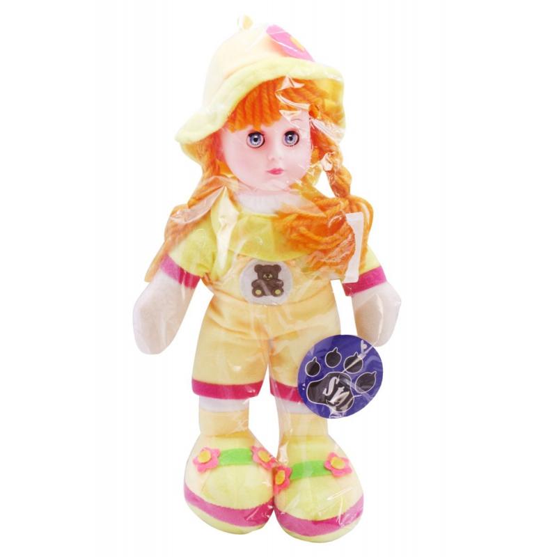 """Музыкальная плюшевая кукла желтый купить в магазине """"Пустун"""""""