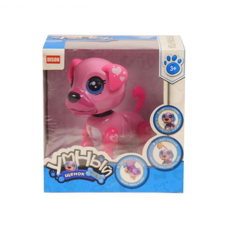 """Интерактивная игрушка """"Умный щенок"""" (розовый) E5599-1 купить в магазине """"Пустун"""""""