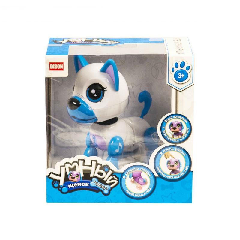 """Интерактивная игрушка """"Умный щенок"""" (бело-голубой) E5599-1 купить в магазине """"Пустун"""""""