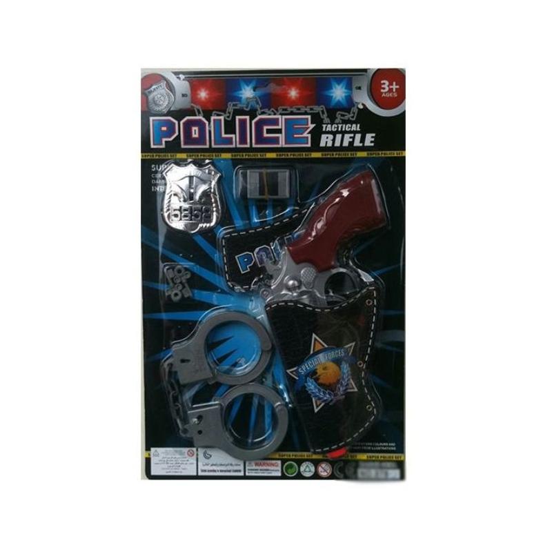 """Набор игровой Полицейский патруль 6 деталей купить в магазине """"Пустун"""""""