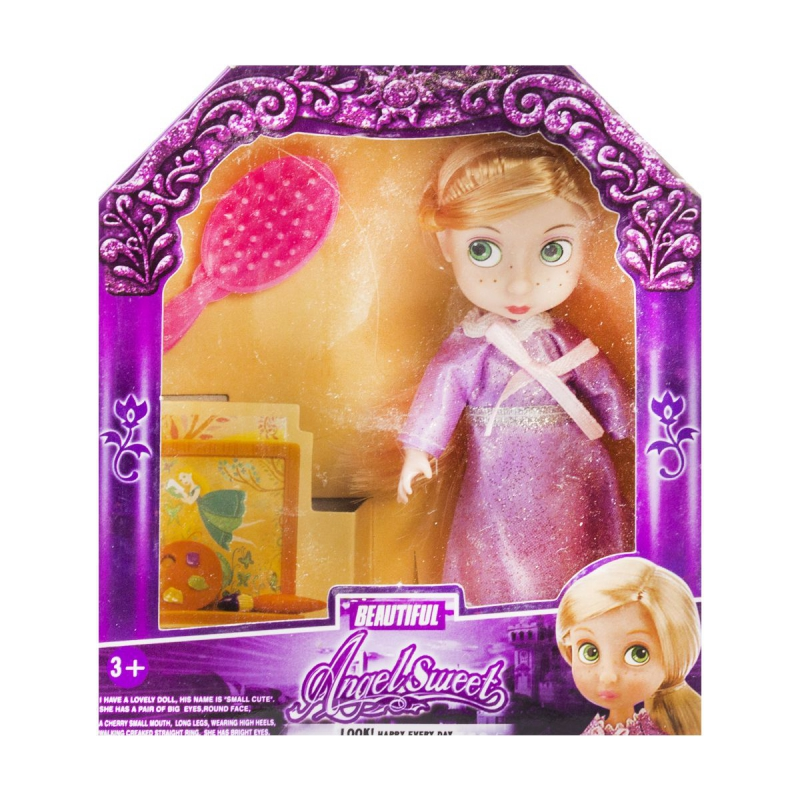 """Кукла принцесса Angel Sweet. Рапунцель купить в магазине """"Пустун"""""""