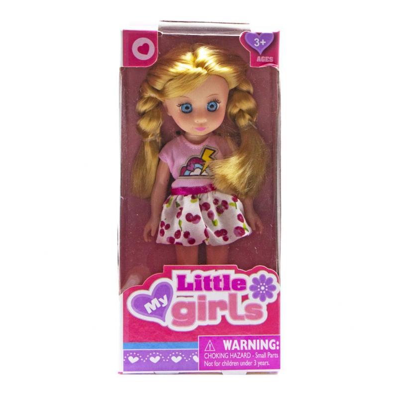 """Кукла Little girls (малиновый) купить в магазине """"Пустун"""""""
