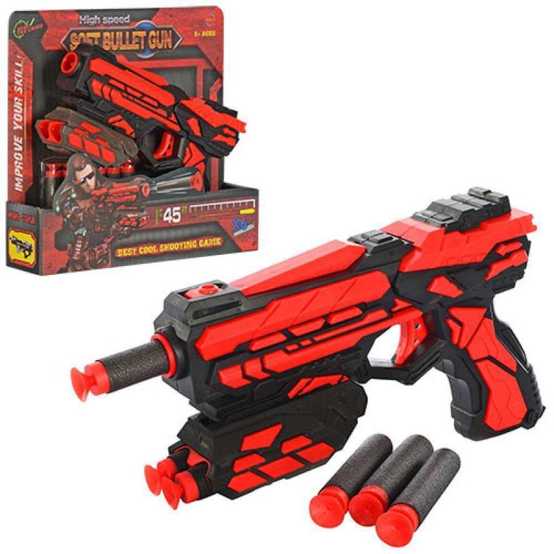"""Пистолет Soft bullet gun с поролоновыми пулями купить в магазине """"Пустун"""""""