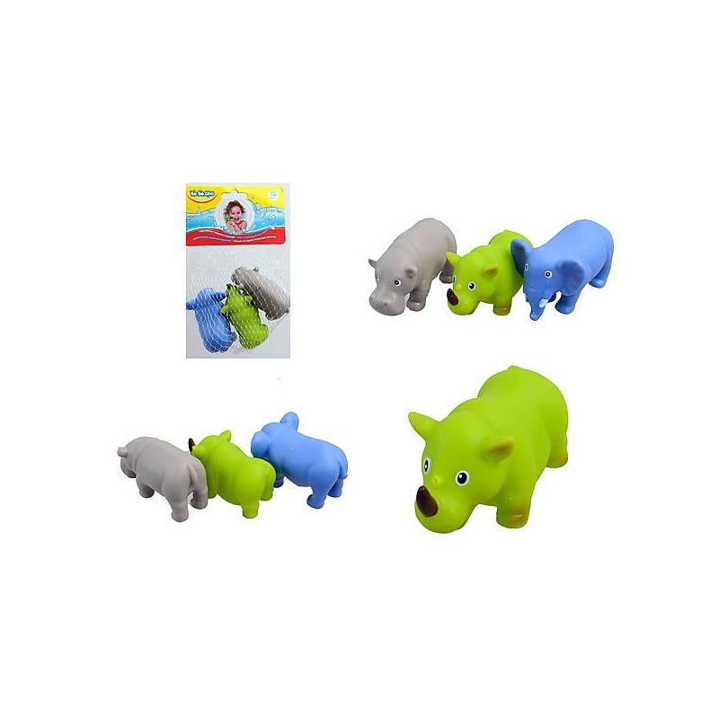 """Набор игрушек для купания """"Африка"""" (3 шт) 58003 купить в магазине """"Пустун"""""""