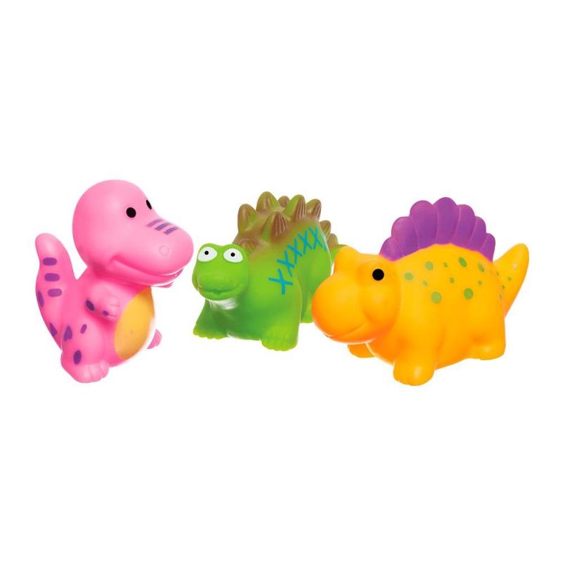 """Набор игрушек для купания """"Динозаврики"""" (3 шт) 58128 купить в магазине """"Пустун"""""""