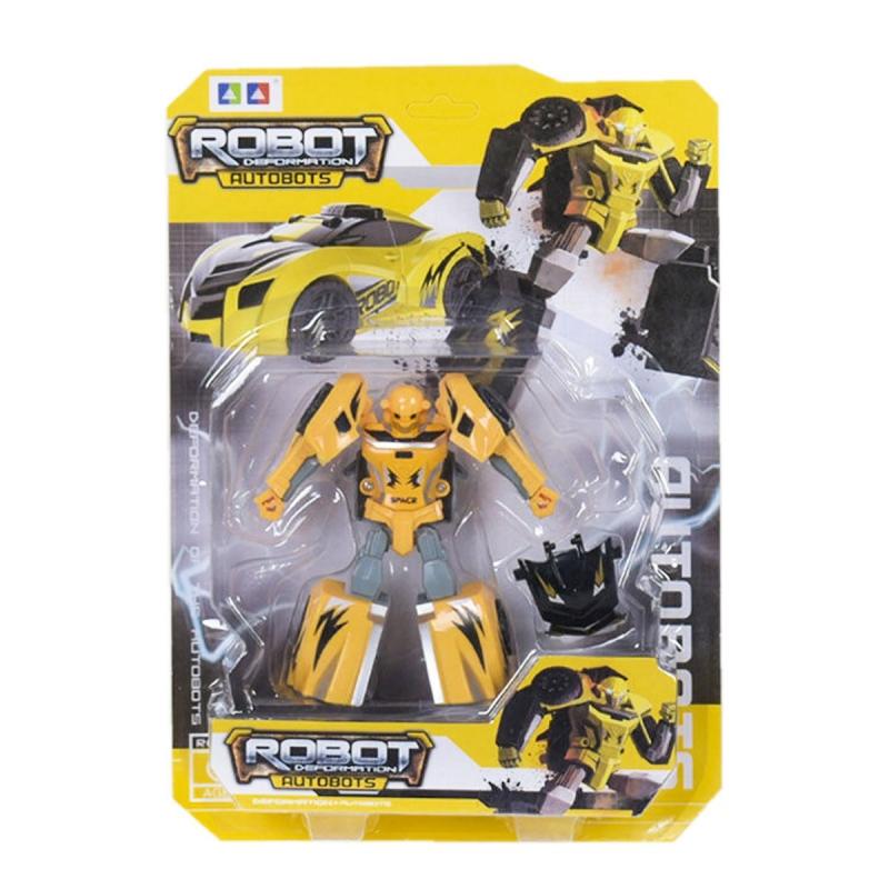 """Трансформер """"Robot Deformation"""" (желтый) AB23-1А/АВ24- купить в магазине """"Пустун"""""""