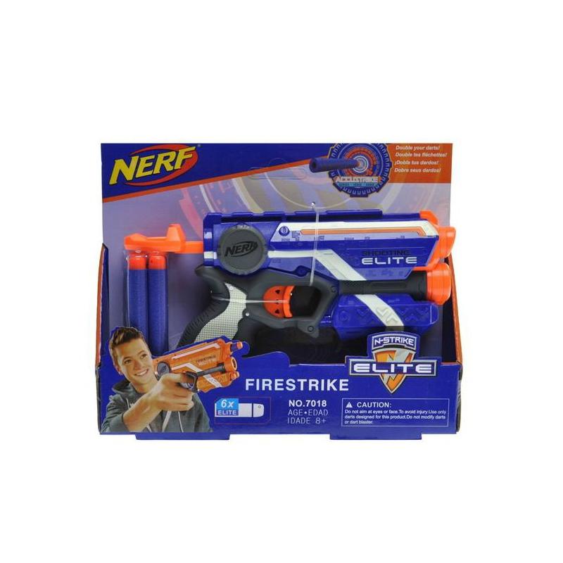 "Бластер NERF: Firestrike (синий) купить в магазине ""Пустун"""
