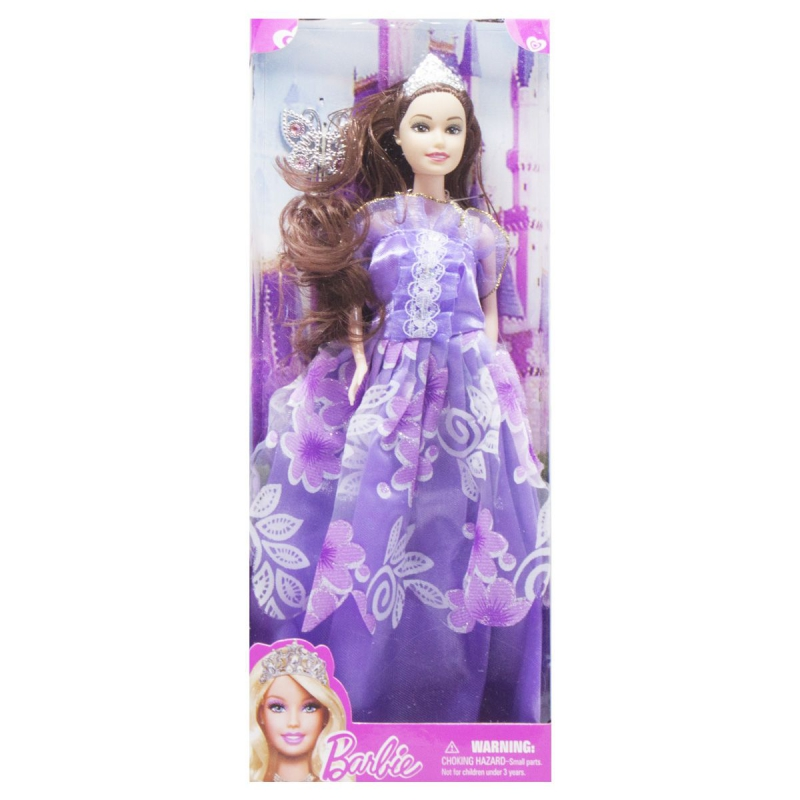 """Кукла в диадеме Barbie (вид 1) купить в магазине """"Пустун"""""""