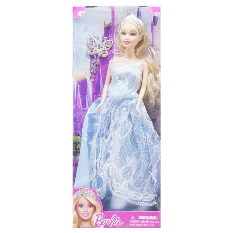 """Кукла в диадеме Barbie (вид 3) купить в магазине """"Пустун"""""""