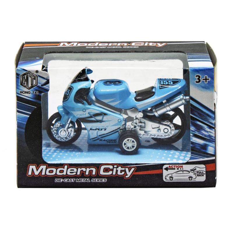 "Мотоцикл Modern City (синий) купить в магазине ""Пустун"""