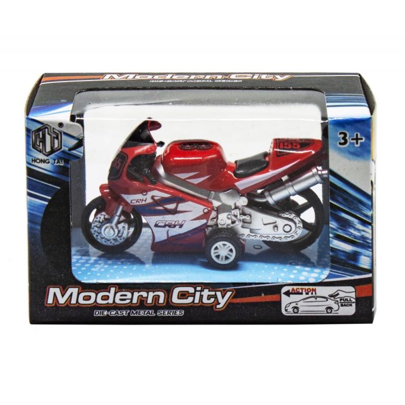 """Мотоцикл Modern City (красный) купить в магазине """"Пустун"""""""