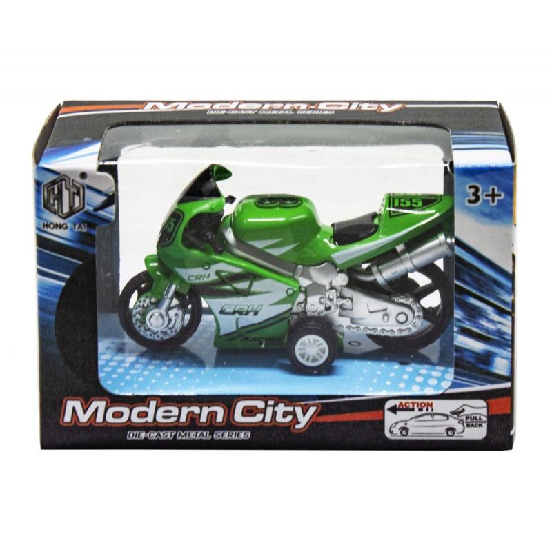 """Мотоцикл Modern City (зеленый) купить в магазине """"Пустун"""""""