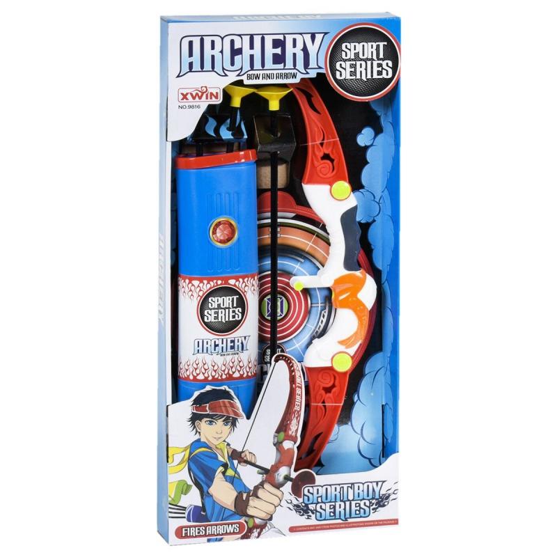 """Лук со стрелами Archery set купить в магазине """"Пустун"""""""