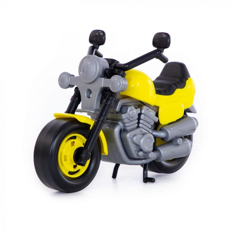 """Мотоцикл гоночный (желтый) купить в магазине """"Пустун"""""""