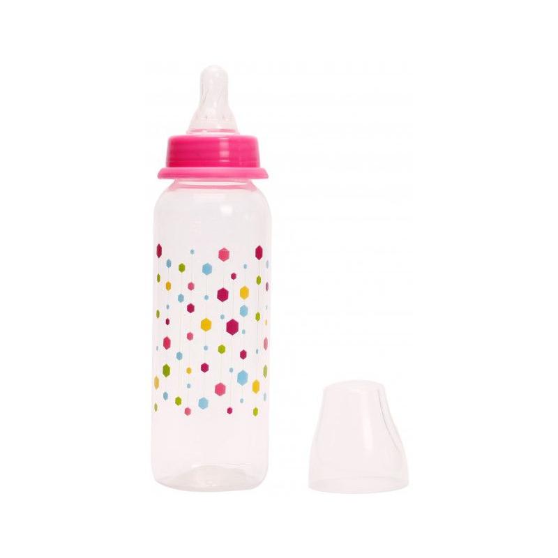 """Бутылочка для кормления (розовый) Pk 054*/S купить в магазине """"Пустун"""""""