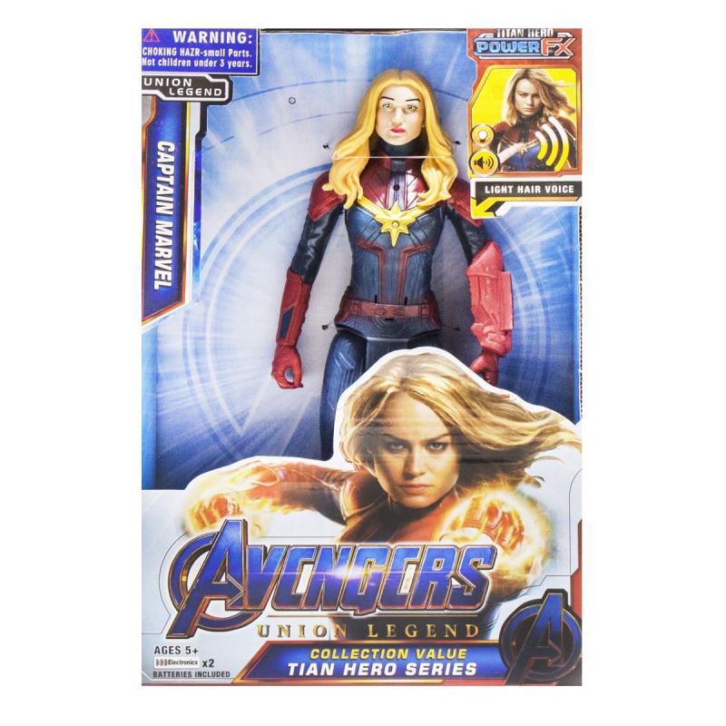 """Фигурка """"Мстители: Капитан Марвел"""" 99108 купить в магазине """"Пустун"""""""
