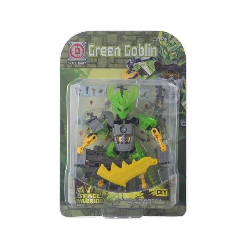 """Игрушечный набор """"Space Baby. Space Warrior"""" (Green Goblin) SB1080 купить в магазине """"Пустун"""""""