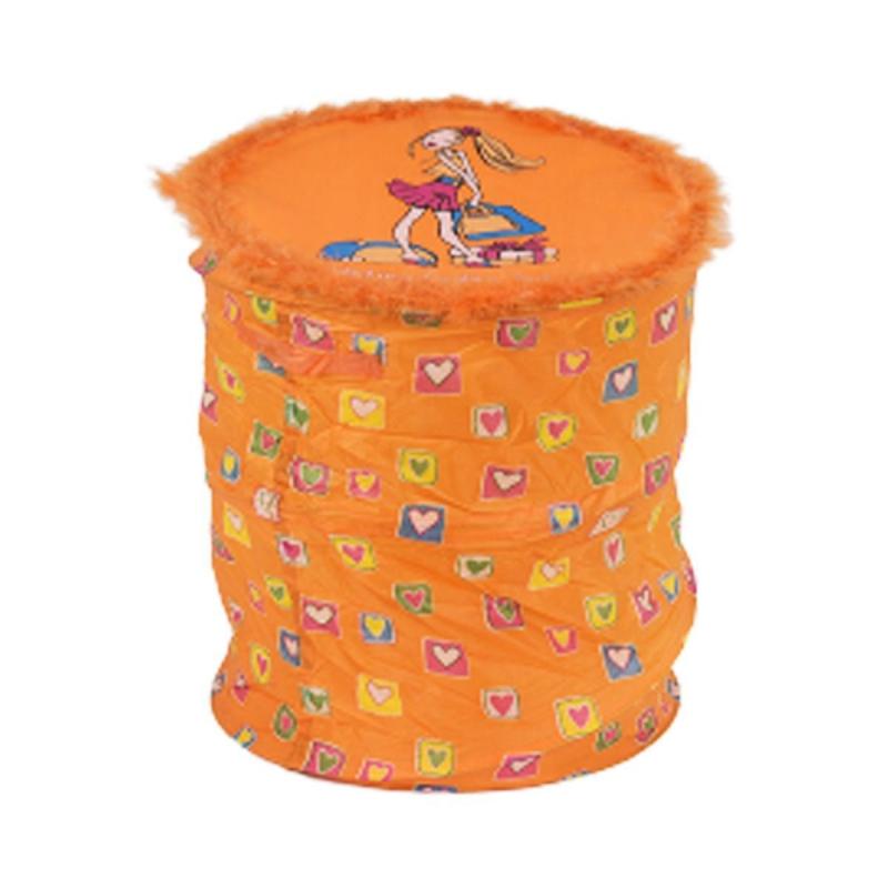 """Корзина для игрушек (оранжевый) BT-TB-0007 купить в магазине """"Пустун"""""""