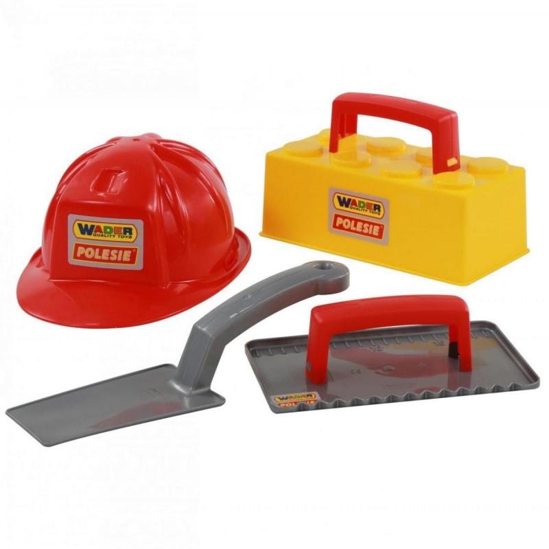 """Набор каменщика №3 """"Construct"""" (4 элемента) 50519 купить в магазине """"Пустун"""""""
