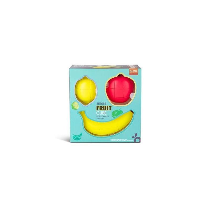 """Кубик Рубик Фрукты набор 3 в 1 купить в магазине """"Пустун"""""""