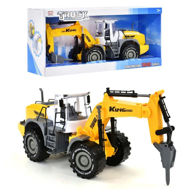"""Трактор пластиковый City Truck Model купить в магазине """"Пустун"""""""