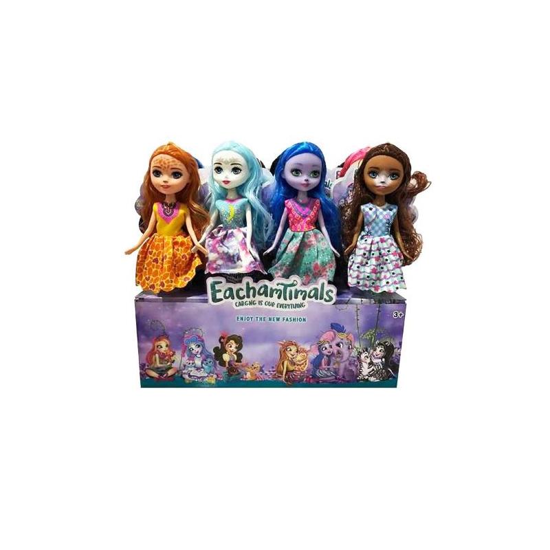 """Набор кукол Enchantimals, 12 штук купить в магазине """"Пустун"""""""