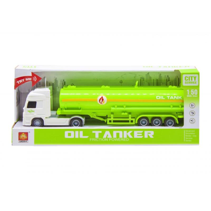 """Трейлер Container truck (белый) купить в магазине """"Пустун"""""""